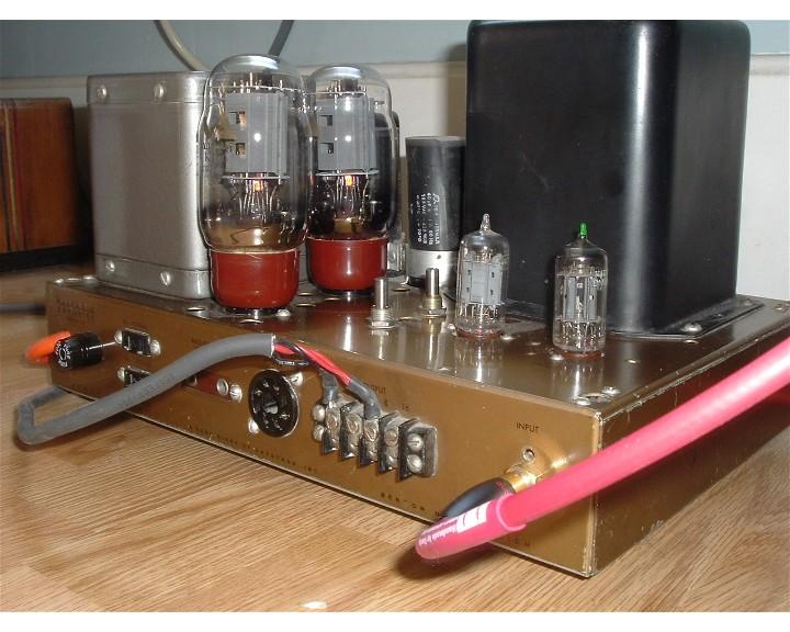 EL34 vs  KT66 with Altec/Peerless 16458 output transformer