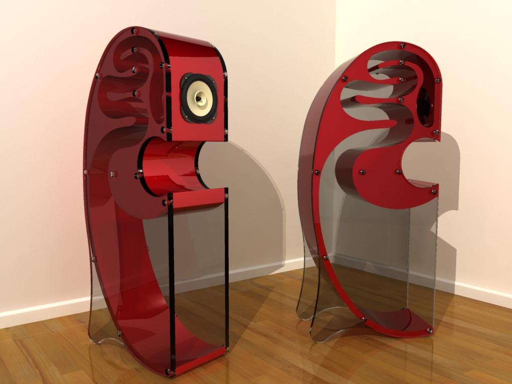 Колонки акустические дизайн