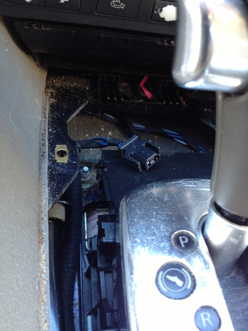 2002 Audi A6 Avant Stuck In Park Brake Lights Ok Engine Starts But